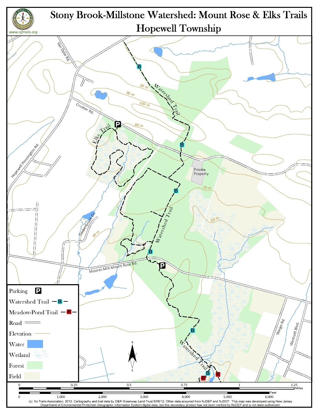 Stony brook millstone watershed mount rose trails new jersey trails association Stony brook swimming pool hours