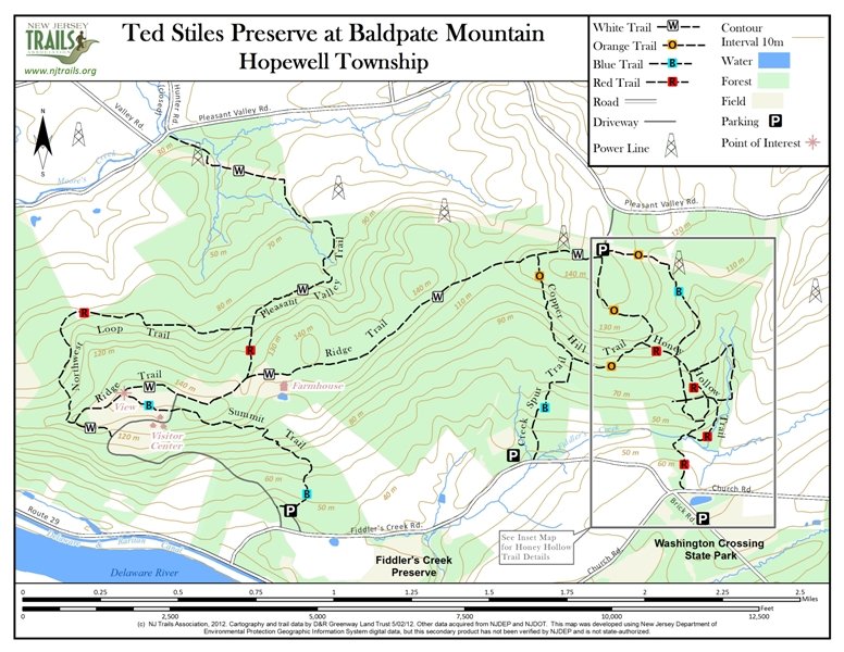 Ted Stiles Preserve at Baldpate Mountain